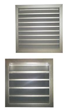 Grilles de ventilation � ISO�