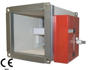 S curit incendie compartimentage les clapets coupe feu de panol - Installation clapet coupe feu ...
